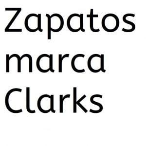 Zapatos ortopedicos marca Clarks